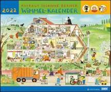 Cover-Bild zu Wimmel-Kalender 2022 - DUMONT Kinderkalender - Wandkalender 58,4 x 48,5 cm - Spiralbindung von Berner, Rotraud Susanne (Illustr.)