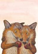 Cover-Bild zu Fuchsliebe Postkarte VE 1=10 von Schärer, Kathrin
