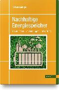 Cover-Bild zu Nachhaltige Energiespeicher von Meilinger, Stefanie