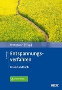 Cover-Bild zu Entspannungsverfahren von Petermann, Franz (Hrsg.)