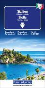 Cover-Bild zu Hallwag Kümmerly+Frey AG (Hrsg.): Sizilien Nr. 15 Regionalkarte Italien 1:200 000. 1:200'000