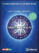 Cover-Bild zu Wer wird Millionär 2022 Tagesabreißkalender - 11,8x15,9 - Rätselkalender - Knobelkalender - Tischkalender von teNeues Calendars