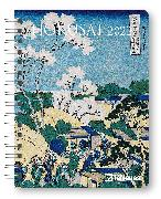 Cover-Bild zu Hokusai 2022 - Diary - Buchkalender - Taschenkalender - Kunstkalender - 16,5x21,6 von Hokusai, Katsushika