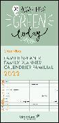 Cover-Bild zu GreenLine Green Vibes 2022 Familienplaner - Familien-Kalender - Kinder-Kalender 22x45 von teNeues Calendars