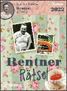 Cover-Bild zu Stefan Heine Rentnerrätsel 2022 - Tagesabreißkalender - 11,8x15,9 - Rentnerkalender - Rentnerrätsel - Rätselkalender von Heine, Stefan