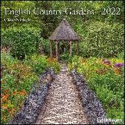 Cover-Bild zu English Country Gardens 2022 - Wand-Kalender - Broschüren-Kalender - 30x30 - 30x60 geöffnet - Garten von Nichols, Clive