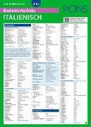 Cover-Bild zu PONS Basiswortschatz auf einen Blick Italienisch