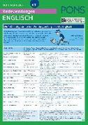 Cover-Bild zu PONS Redewendungen auf einen Blick Englisch