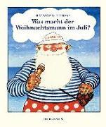 Cover-Bild zu Was macht der Weihnachtsmann im Juli? von Briggs, Raymond