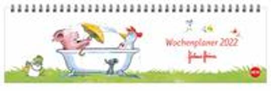 Cover-Bild zu Helme Heine Wochenquerplaner Kalender 2022 von Heine, Helme