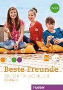 Cover-Bild zu Beste Freunde A1/1. Arbeitsbuch mit Audio-CD von Georgiakaki, Manuela