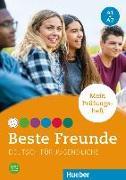 Cover-Bild zu Beste Freunde A1+A2 von Papadopoulou, Maria