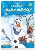 Cover-Bild zu Disney Eiskönigin: Malen mit Olaf