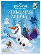 Cover-Bild zu Disney Die Eiskönigin: Stickerspaß mit Olaf