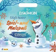 Cover-Bild zu Disney Die Eiskönigin: Olafs bunter Spiel- und Malspaß