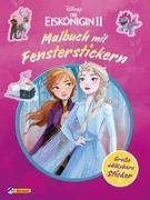 Cover-Bild zu Disney Die Eiskönigin 2: Malbuch mit Fensterstickern