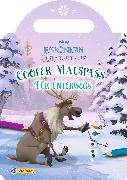 Cover-Bild zu VE 5 Disney Die Eiskönigin Olaf taut auf: Cooler Malspaß für unterwegs