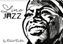 Cover-Bild zu Richter, Robert: Lino Jazz (Wandkalender 2021 DIN A3 quer)