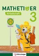 Cover-Bild zu Mathetiger 3 - Arbeitsheft - Neubearbeitung von Laubis, Thomas (Hrsg.)