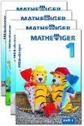 Cover-Bild zu Mathetiger 1 Jahreszeiten-Hefte, Klasse 1 von Laubis, Thomas