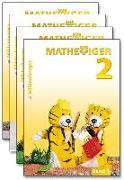 Cover-Bild zu Mathetiger 2, Jahreszeiten-Bände, Klasse 2 · Erstausgabe von Laubis, Thomas