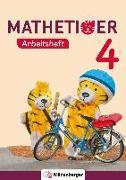 Cover-Bild zu Mathetiger 4 - Arbeitsheft - Neubearbeitung von Laubis, Thomas (Hrsg.)