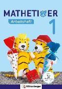 Cover-Bild zu Mathetiger 1 - Arbeitsheft von Laubis, Thomas