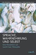 Cover-Bild zu Misselhorn, Catrin (Hrsg.): Sprache, Wahrnehmung und Selbst