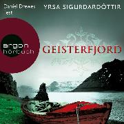 Cover-Bild zu Geisterfjord - Island-Thriller (Ungekürzte Lesung) (Audio Download) von Sigurdardóttir, Yrsa