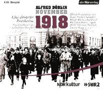 Cover-Bild zu Döblin, Alfred: November 1918. Eine deutsche Revolution