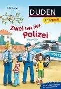 Cover-Bild zu Duden Leseprofi - Zwei bei der Polizei, 1. Klasse von Klein, Martin