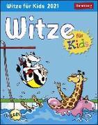 Cover-Bild zu Witze für Kids Kalender 2021