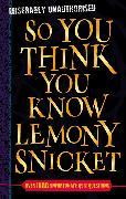 Cover-Bild zu Lemony Snicket von Gifford, Clive