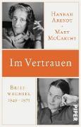 Cover-Bild zu Arendt, Hannah: Im Vertrauen (eBook)