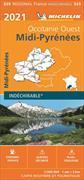 Cover-Bild zu Midi-Pyrénées. Occitanie Ouest 2021. 1:200'000