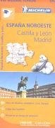 Cover-Bild zu España noroeste, Castilla y León / Madrid. 1:400'000