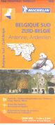 Cover-Bild zu Belgique sud / Zuid-België, Ardenne, Ardennen. 1:200'000