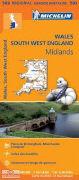 Cover-Bild zu Wales South West England - Midlands. 1:400'000