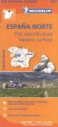 Cover-Bild zu España Norte, País Vasco / Euskadi, Navarra, La Rioja. 1:250'000