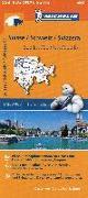 Cover-Bild zu Schweiz Süd-Ost / Suisse Sud-Est / Svizzera Sud-Est. 1:200'000