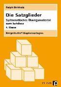 Cover-Bild zu Die Satzglieder von Birkholz, Ralph