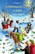 Cover-Bild zu Drei Weihnachts-Lamas in Gefahr von Pestum, Jo