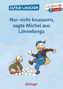 Cover-Bild zu Nur nicht knausern, sagte Michel aus Lönneberga von Lindgren, Astrid