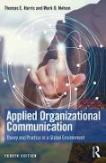 Cover-Bild zu Applied Organizational Communication (eBook) von Harris, Thomas E.