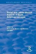 Cover-Bild zu Social and Labour Market Aspects of North American Linkages (eBook) von Harris, Richard G. (Hrsg.)