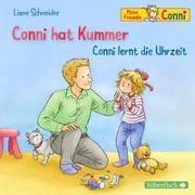 Cover-Bild zu Conni hat Kummer / Conni lernt die Uhrzeit von Schneider, Liane