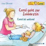Cover-Bild zu Conni geht zur Zahnärztin / Conni ist wütend von Schneider, Liane