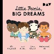 Cover-Bild zu Little People, Big Dreams - Teil 2: Ella Fitzgerald, Jane Austen, Coco Chanel, Muhammad Ali (Audio Download) von Vegara, María Isabel Sánchez