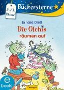 Cover-Bild zu Die Olchis räumen auf (eBook) von Dietl, Erhard