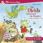 Cover-Bild zu Die Olchis bekommen ein Haustier und eine weitere Geschichte (Audio Download) von Dietl, Erhard